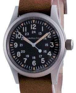 Hamilton Khaki Field Black Dial Mechanical H69439531 Men's Watch