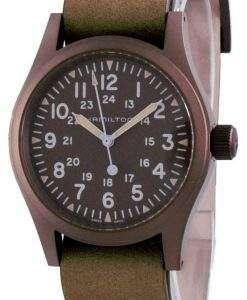 Hamilton Khaki Field Brown Dial Mechanical H69449861 Men's Watch