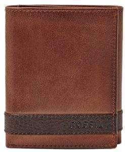 Fossil Quinn Trifold Brown ML3645200 Men's Wallet