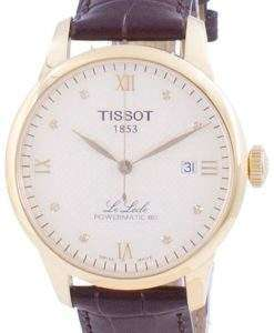 Tissot Le Locle Powermatic 80 Automatic T006.407.36.266.00 T0064073626600 Men's Watch