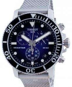 Tissot T-Sport Seastar 1000 Chronograph Quartz T120.417.11.041.02 T1204171104102 300M Men's Watch
