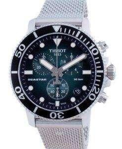 Tissot T-Sport Seastar 1000 Chronograph Divers Quartz T120.417.11.091.00 T1204171109100 300M Mens Watch