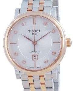 Tissot T-Classic Carson Automatic Diamond Accents T122.207.22.036.00 T1222072203600 Women's Watch