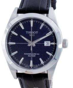 Tissot T-Classic Gentleman Powermatic 80 Silicium Automatic T127.407.16.041.01 T1274071604101 100M Men's Watch