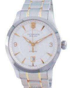 Victorinox Alliance Swiss Army White Dial Automatic 241874 100M Mens Watch