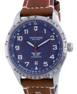 Victorinox Airboss Swiss Army Airboss Blue Dial Automatic 241887 100M Mens Watch