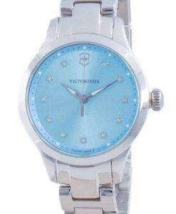 Victorinox Alliance XS Blue Dial Diamond Accents Quartz 241916 100M Womens Watch