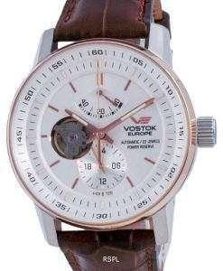 Vostok Europe GAZ 14 Open Heart Automatic YN84-565E550-L Men's Watch
