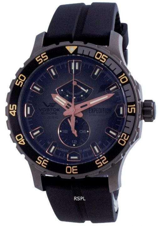 Vostok Europe Expedition Everest Underground Automatic Diver's YN84-597D541-LS 200M Men's Watch