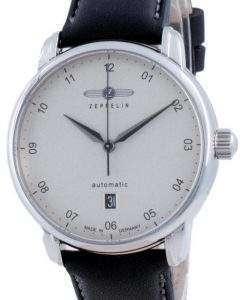 Zeppelin New Captain's Line Silver Dial Automatic 8652-1 86521 Men's Watch