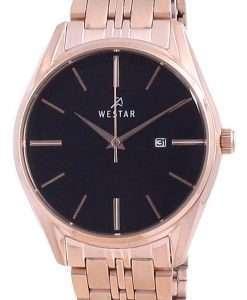 Westar Black Dial Two Tone Stainless Steel Quartz 40210 PPN 603 Women's Watch