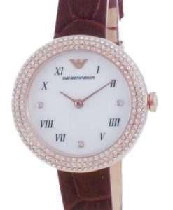 Emporio Armani Diamond Accents Quartz AR11357 Women's Watch