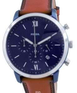 Fossil Neutra Chronograph Luggage Leather Quartz FS5791 Men's Watch