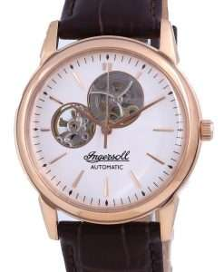 Ingersoll The New Haven Open Heart Leather Automatic I07301 Men's Watch