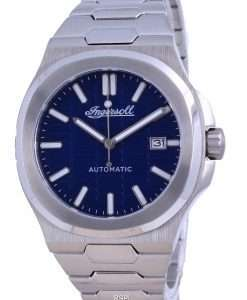 Ingersoll The Catalina Blue Dial Stainless Steel Automatic I11801 Men's Watch