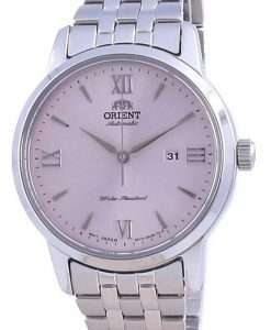 Orient Contemporary Pink Dial Stainless Steel Automatic RA-NR2002P10B Women's Watch