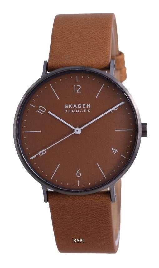 Skagen Aaren Naturals Leather Quartz SKW6726 Men's Watch