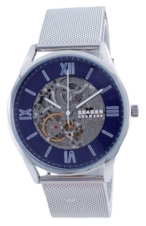 Skagen Holst Skeleton Stainless Steel Automatic SKW6733 Men's Watch