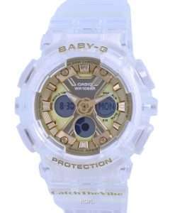 Casio Baby-G Special Colour Analog Digital BA-130CVG-7A BA130CVG-7 100M Womens Watch