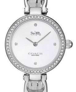 Coach Park Sig C Crystal Accents Stainless Steel Quartz 14503170 Womens Watch