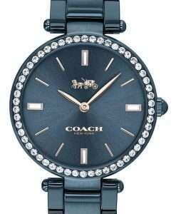 Coach Park Blue Dial Crystal Accents Quartz 14503423 Womens Watch