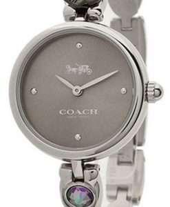 Coach Park Grey Dial Stainless Steel Quartz 14503444 Womens Watch