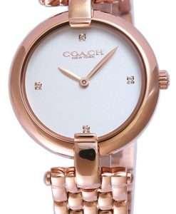 Coach Christie Rose Gold Tone Stainless Steel Quartz 14503480 Womens Watch