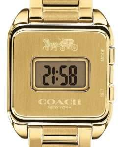 Coach Darcy Gold Tone Stainless Steel Quartz 14503591 Womens Watch