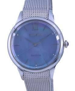 Citizen Mother Of Pearl Stainless Steel Eco-Drive EM0810-84N Womens Watch