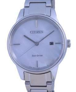 Citizen Mother Of Pearl Dial Stainless Steel Eco-Drive EW2590-85D Womens Watch