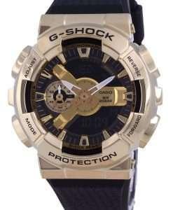 Casio G-Shock Analog Digital Metal Covered GM-110G-1A9 GM110G-1 200M Mens Watch