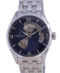 Hamilton Jazzmaster Stainless Steel Open Heart Automatic H32705141 Mens Watch