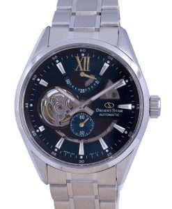 Orient Star Contemporary Skeleton Dial Stainless Steel Automatic RE-AV0114E00B 100M Mens Watch