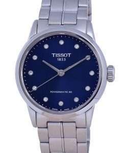 Tissot T-Classic Luxury Diamond Accents Automatic T086.207.11.046.00 T0862071104600 Womens Watch