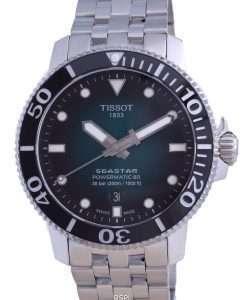 Tissot T-Sport Seastar 1000 Powermatic 80 Diver's Automatic T120.407.11.091.01 T1204071109101 300M Men's Watch