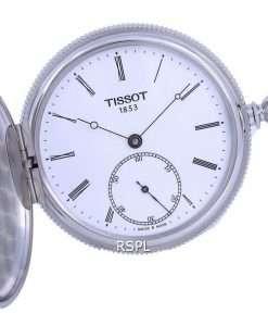 Tissot T-Pocket Savonnette Mechanical T867.405.19.013.00 T8674051901300 Pocket Watch