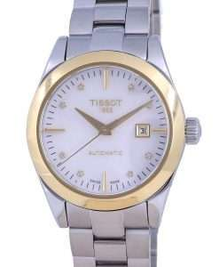 Tissot T-Gold T-My Lady 18K Gold Diamond Accents Automatic T930.007.41.116.00 T9300074111600 Womens Watch